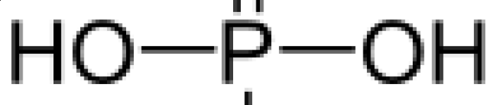 Strukturformel Phosphorsaeure (PD)